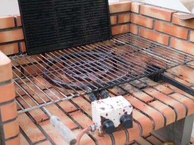 Gas Grill & Patio Heater Repairs - Gas Log Installation Cost